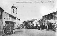 ancienne-carte-postale-place du village